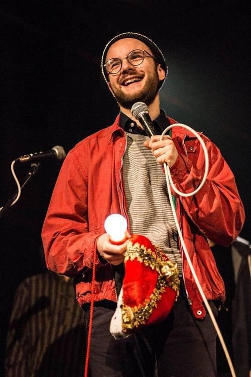 Slam-Werkstatt für Langens Poeten - Finn Holitzka
