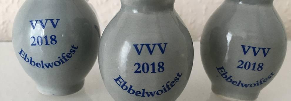 Slider Feiern babbeln und trinken - Ebbelwoifest - Bembel