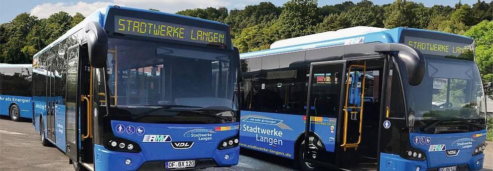 Neue Stadtbusse