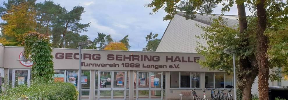 Bebauungsplan Sportpark Oberlinden - Sehring-Halle