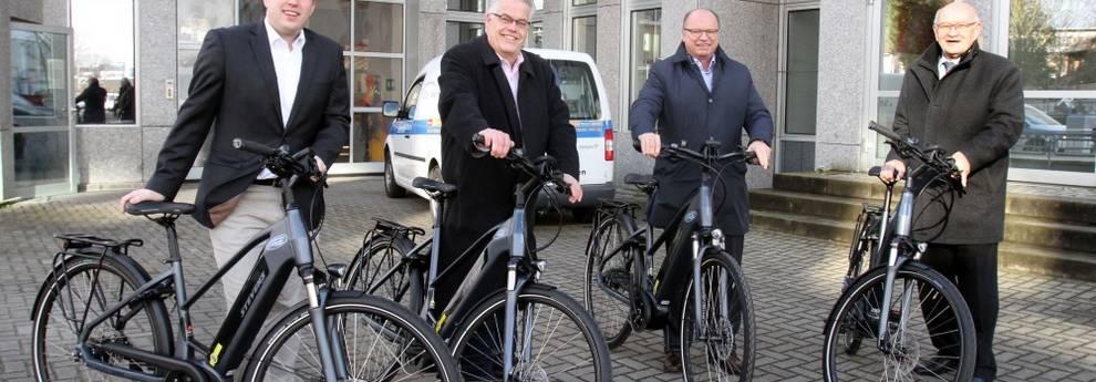 E-Bikes für die Stadtverwaltung