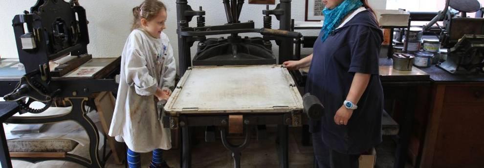 vhs auf Erfolgskurs - Druckwerkstatt