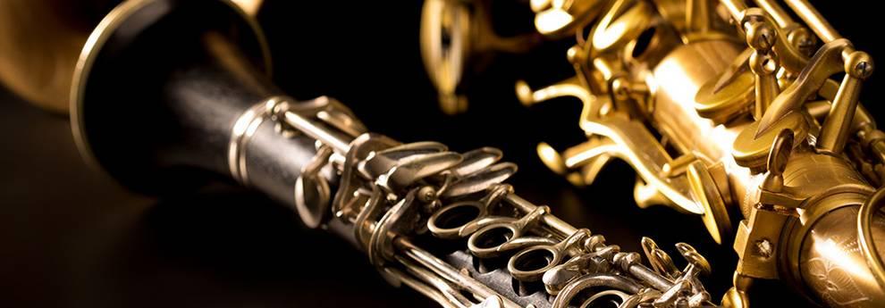 Klarinette und Saxofon