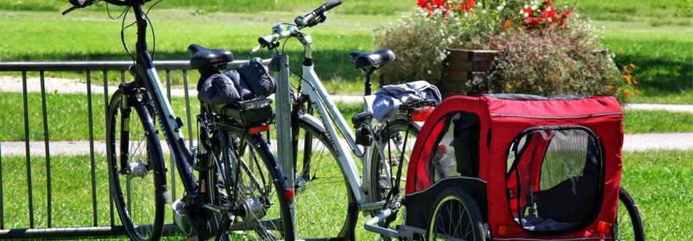 Fahrräder mit Anhänger