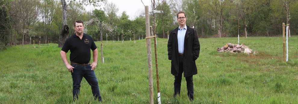 Slider Streuobstwiesenpflanzung Werner Klug