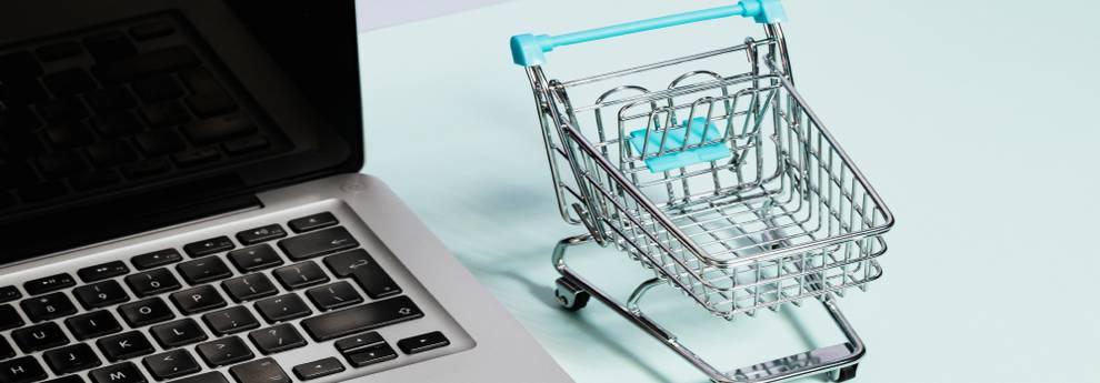 Slider Online Shopping (Sichtbarkeit im Netz)