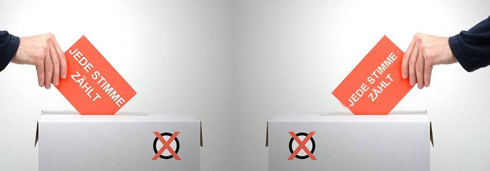 Wahlen - Jede Stimme zählt