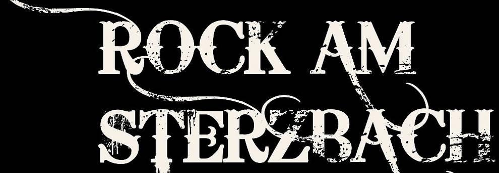 Schriftzug Rock am Sterzbach