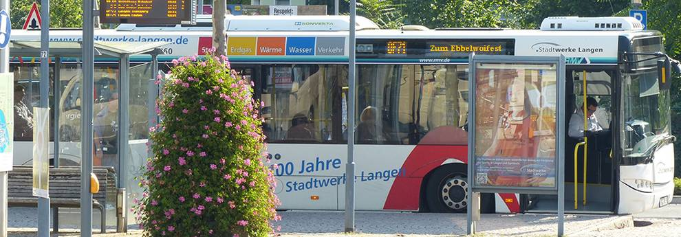 Stadtbus zum Ebbelwoifest
