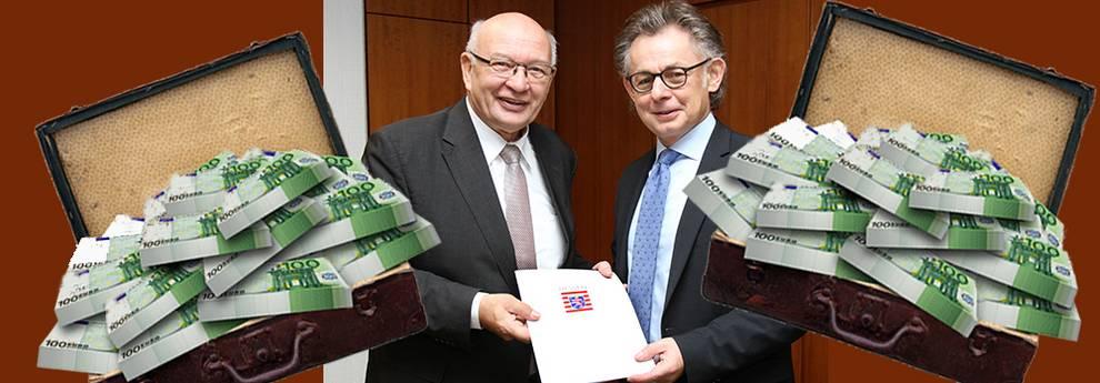 Slider drei Millionen Euro vom Land Hessen