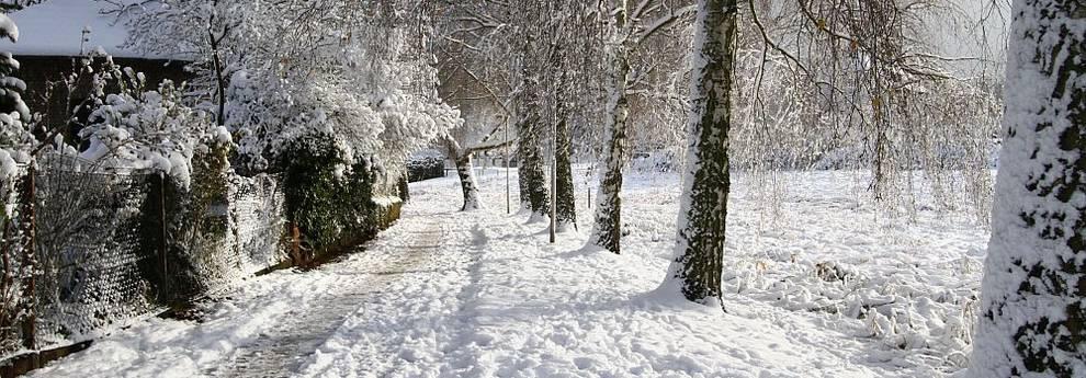 Slider Langen Winterbild